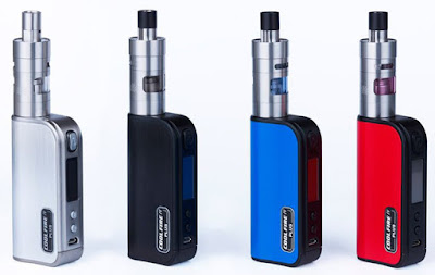 Coolfire IV battery in white, black, blue and red - all colours available