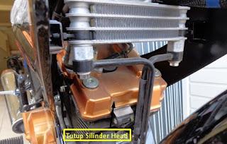 Silinder Head Suzuki Satri Fu 150