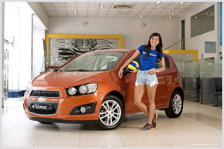 Chevrolet Sonic and Alyssa Valdez