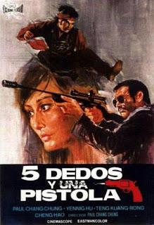 5 dedos y una pistola (1973) Accion con Alan Tang