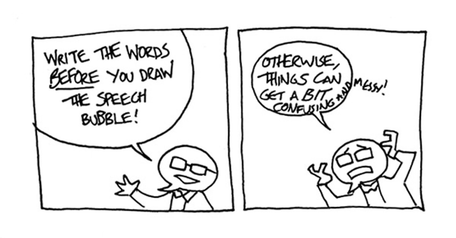 Neill S Blog How To Make Basically Legible Comics