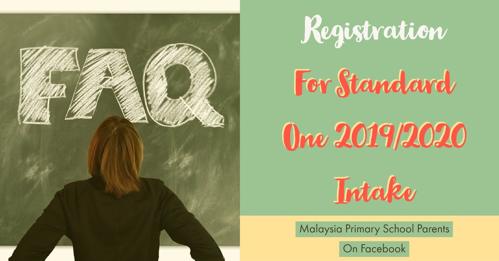 How To Register For Standard One For 2019 and 2020 Intake