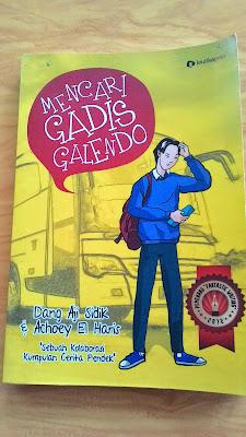 buku dang aji sidik buku achoey el haris buku mencari gadis galendo