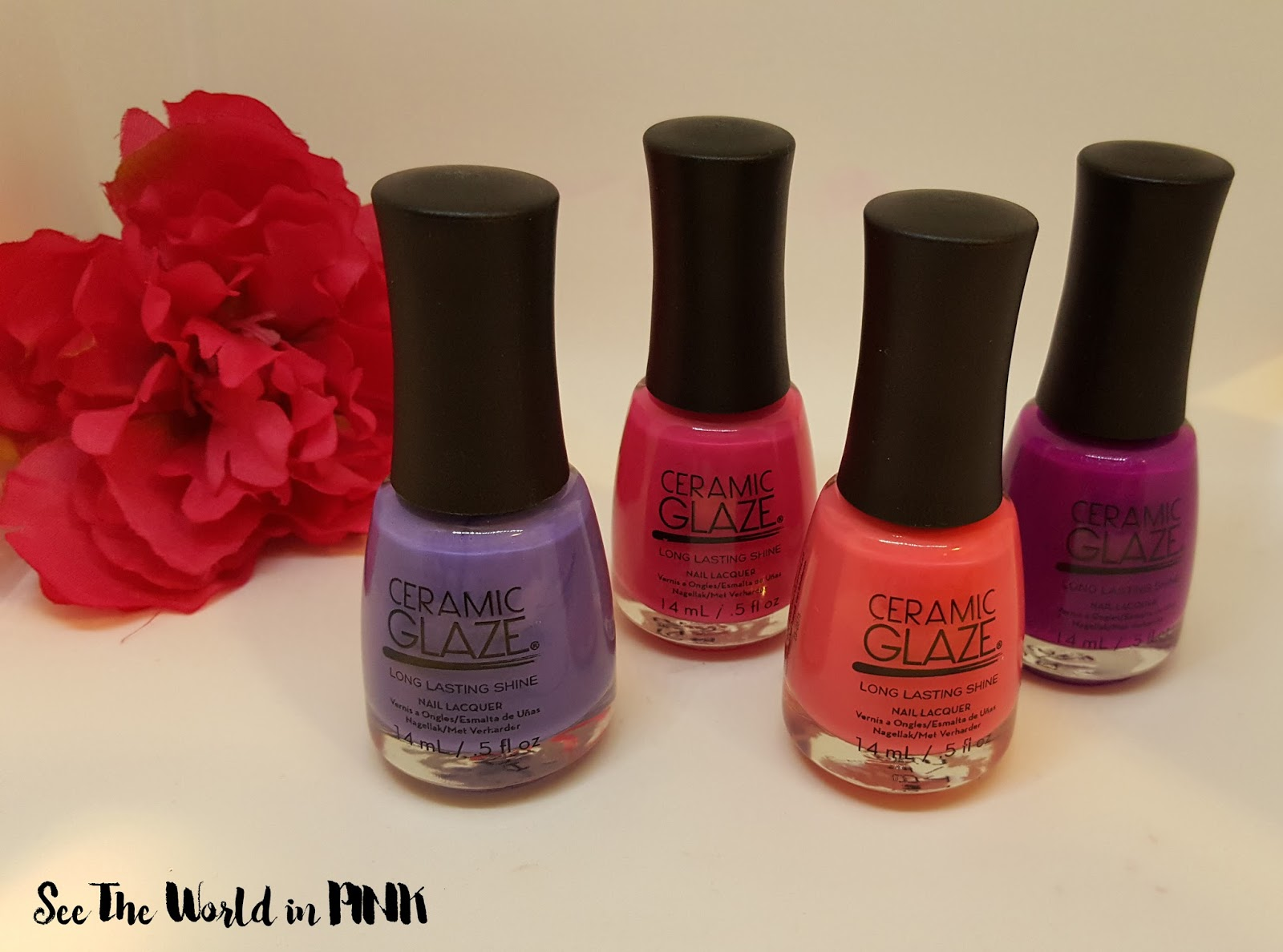 Ceramic Glaze Limited Edition Botanical Oasis Collection Swatches and Reviews