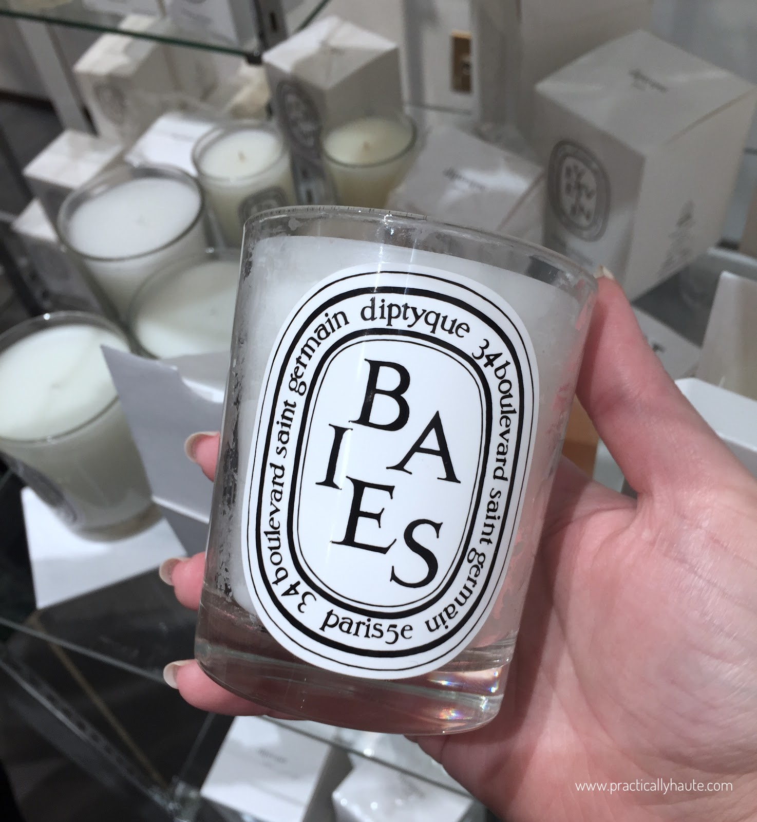 Diptyque sample sale Berries candle