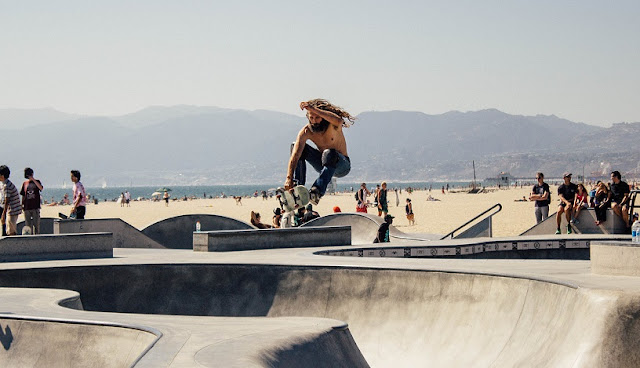 O que fazer na pista de skate em Santa Mônica