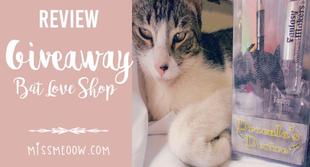 Bat Love Shop: Giveaway.