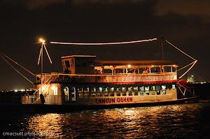 barco para cenas grupos