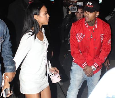 Karrueche Tran reacts to Chris Brown calling her a Bi*ch
