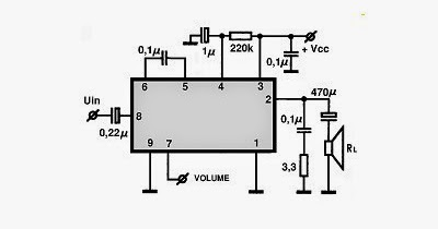 Audio IC TDA1013 4 5W ~ Circuit Wiring Diagram Must Know