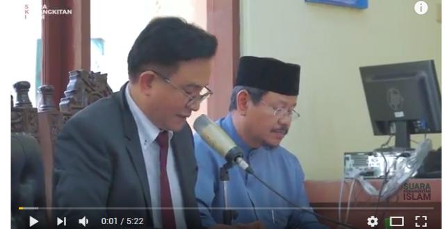 [Video] Mantab! HTI Tolak Seluruh Argumen Kemenkumham di Sidang PTUN