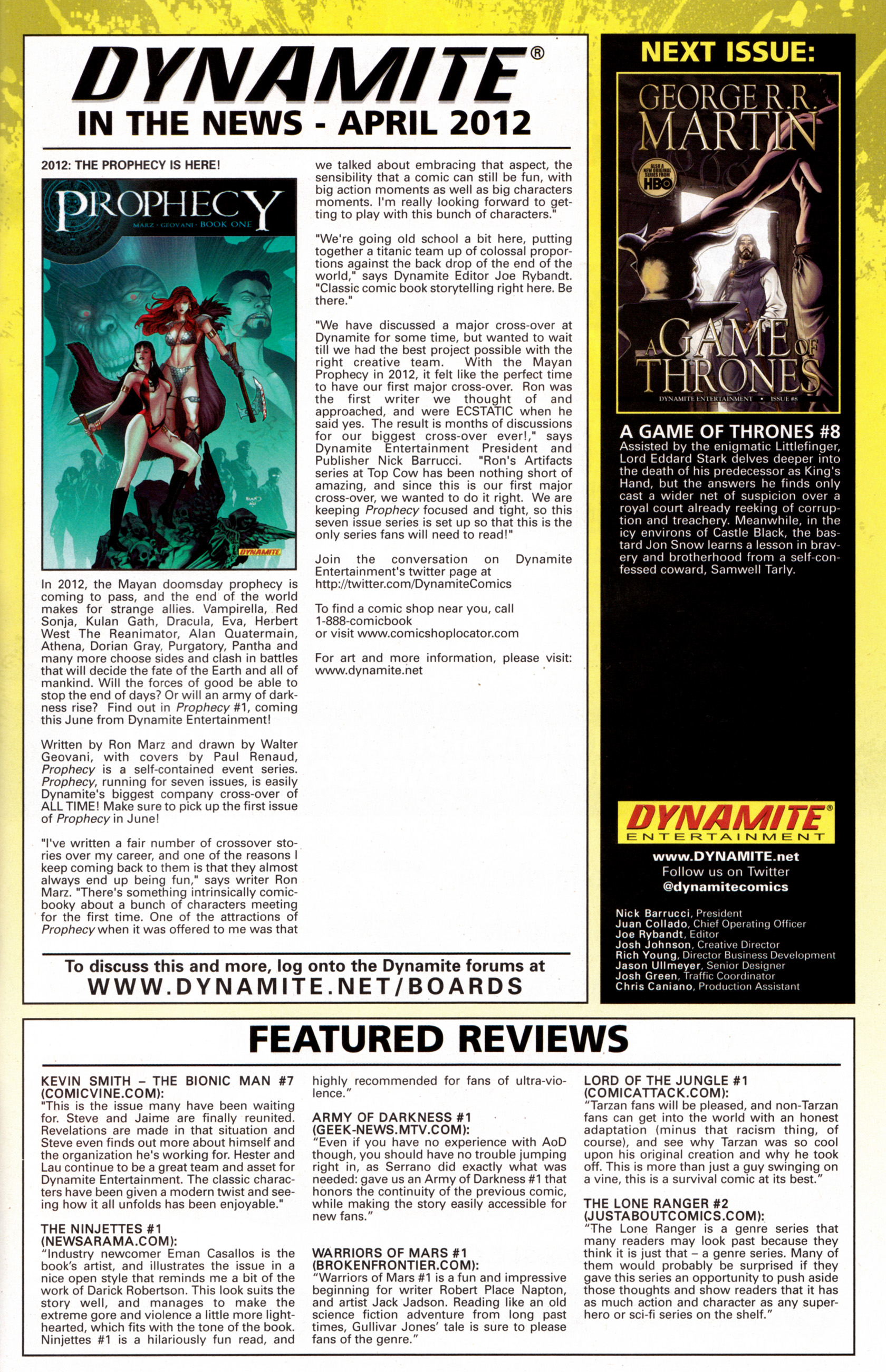 Read online A Game Of Thrones comic -  Issue #7 - 32