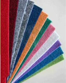 kain flanel warna warni polos