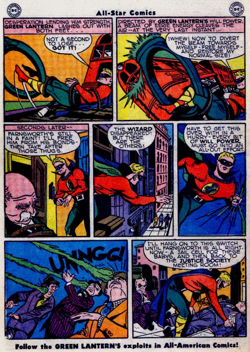 Read online All-Star Comics comic -  Issue #34 - 42