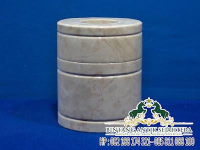 Souvenir Onix | Tempat Tissue Marmer