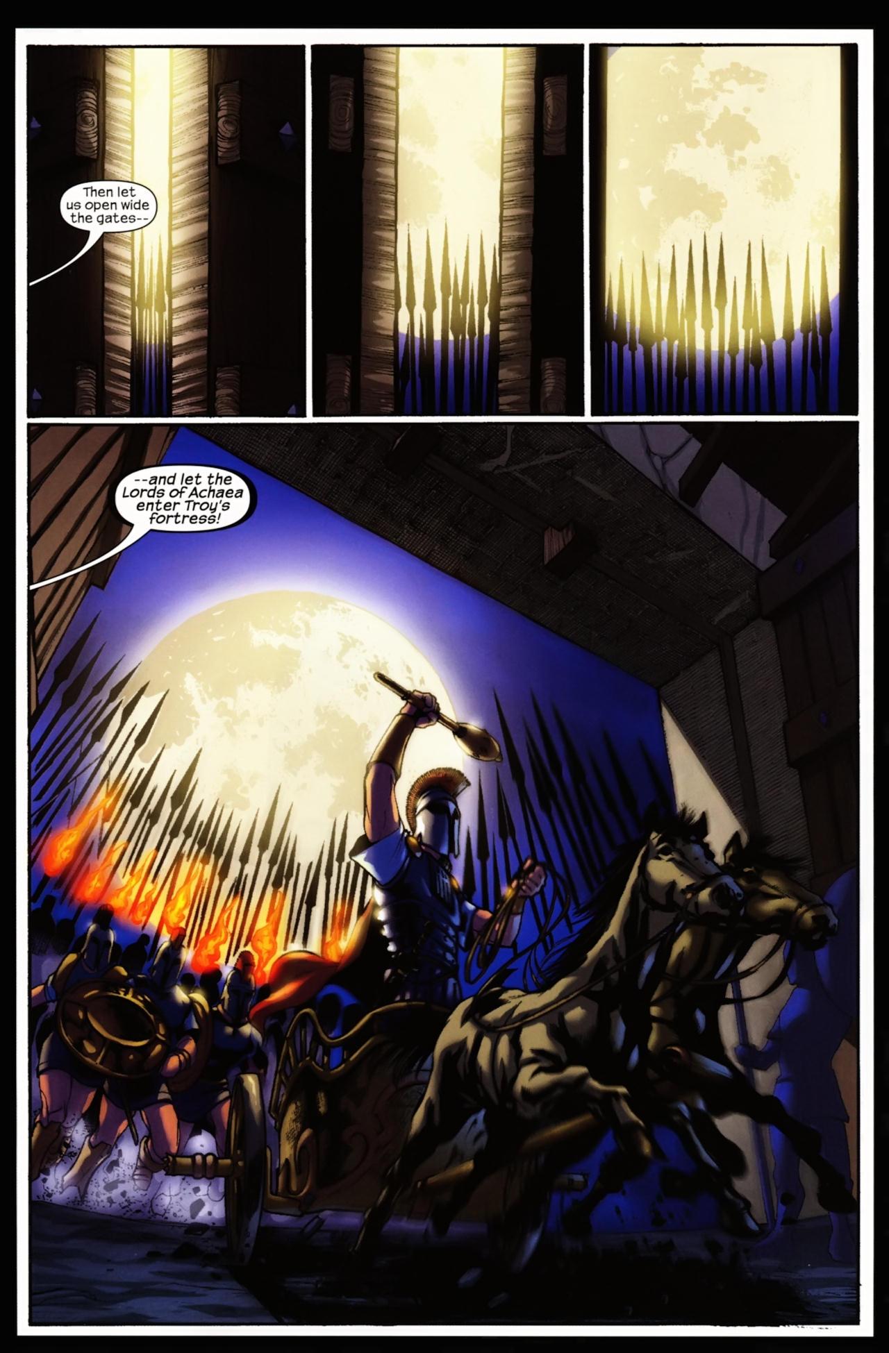 Read online Trojan War comic -  Issue #5 - 9