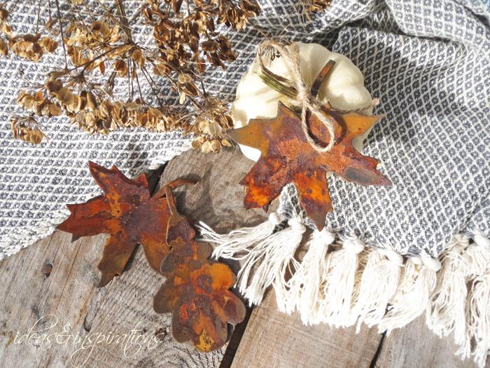 Ideas and inspirations rostige herbstdekoration rusty for Herbstdekoration 2016