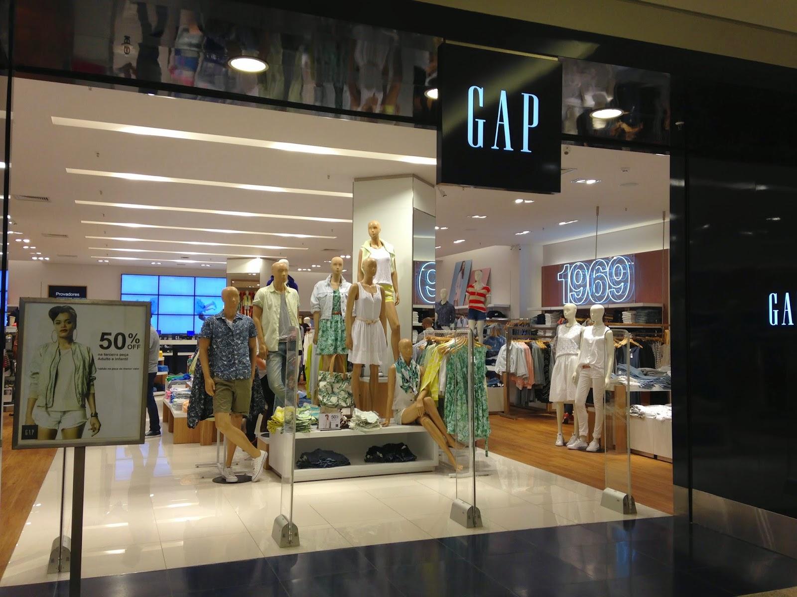 4af2dba28 GAP inaugura loja em Niterói