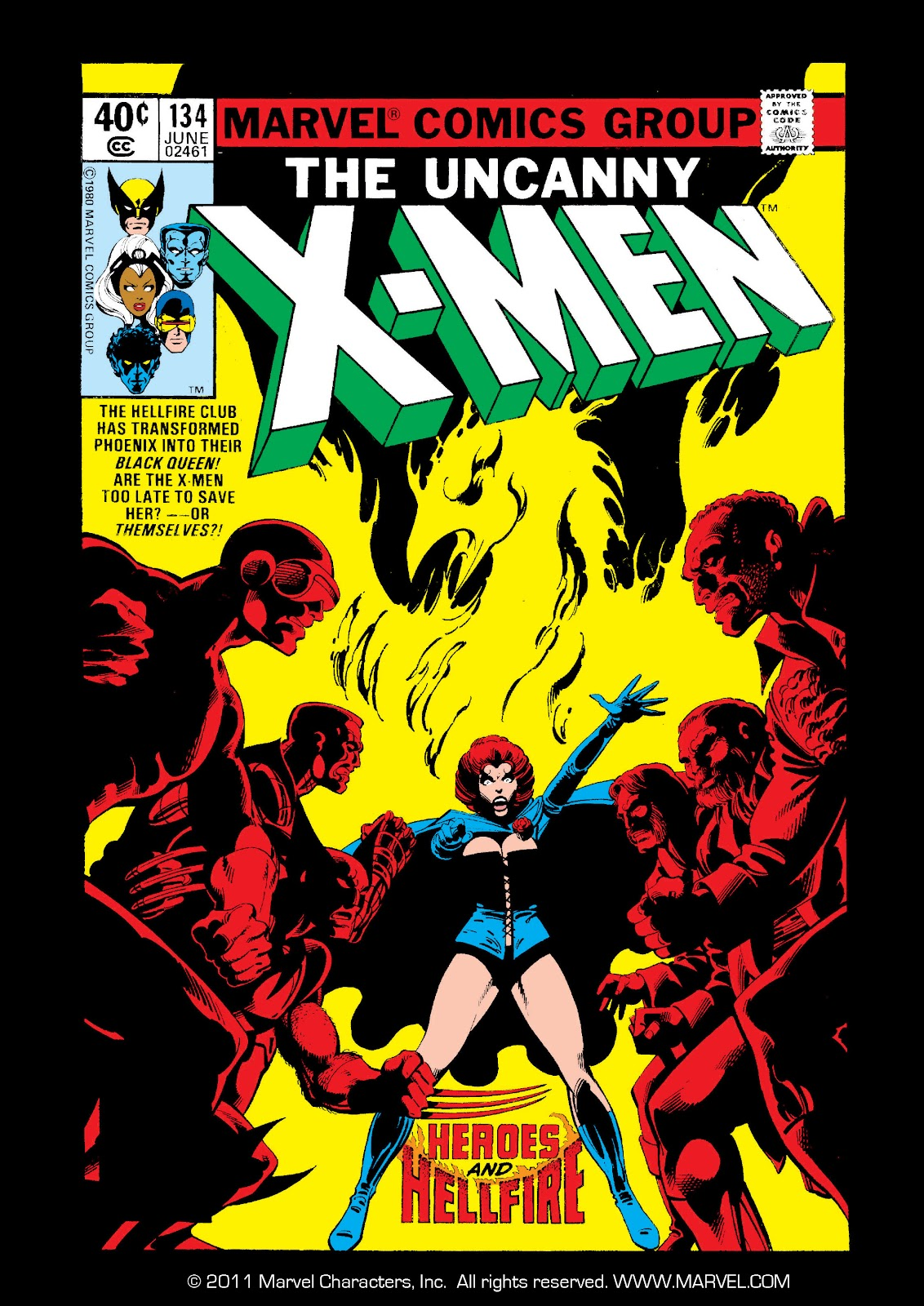 Uncanny X-Men (1963) issue 134 - Page 1