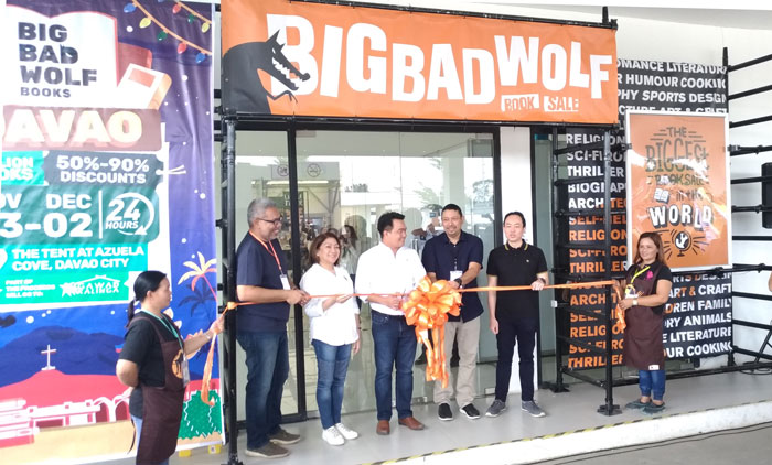 The Big Bad Wolf Book Sale Davao Opens November 23, today!