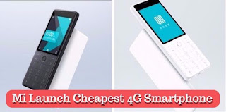 Mi Launch Cheapest 4G Smartphone, lastbenchtrick