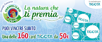 Logo La Natura che ti premia: vinci subito carte Tigotà da euro 50