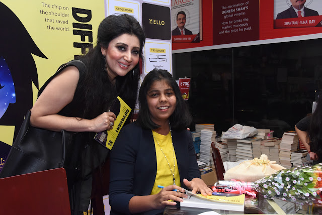 Designer Archana Kochchar with Debut Author Neeha Gupta