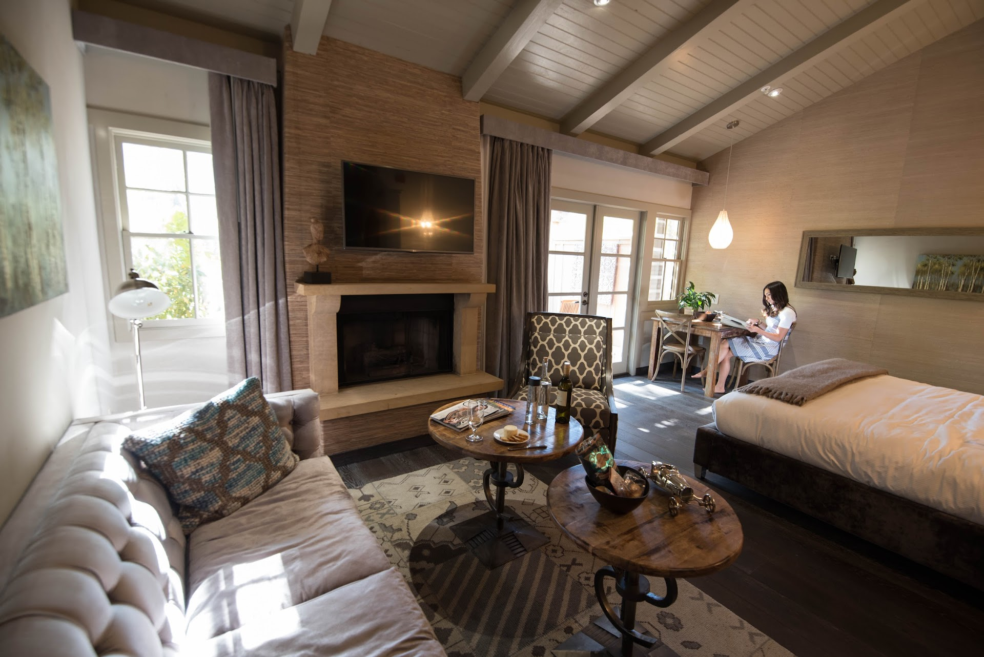 carmel valley, bernardus lodge and spa review, amex platinum, american express platinum, fine hotels and resorts, luxury travel blogger, monterey, central coast, big sur, best hotels in monterey, california travel, couple