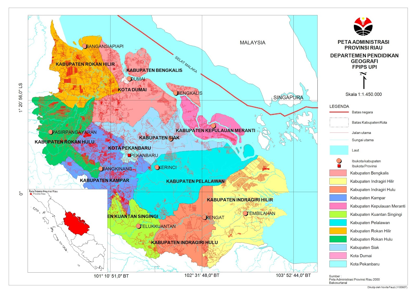 Saya, Bandung dan Geografi