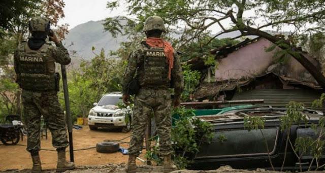 """""""Sicarios atacan viviendas e incendio vehículos en Badiraguato, la tierra de El Chapo """""""