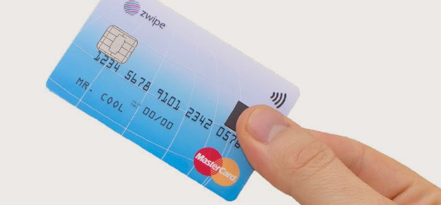 Tarjeta bancaria biometrica