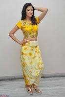 Richa Panai in Yellow Slim Fit Crop top ~ CelebxNext 017.JPG