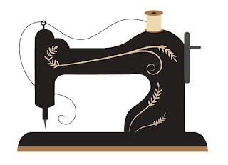 Maszyna do szycia, grafika, rysunek, warsztaty szycia, hobby, wieczór panieński, alternatywny wieczór panieński