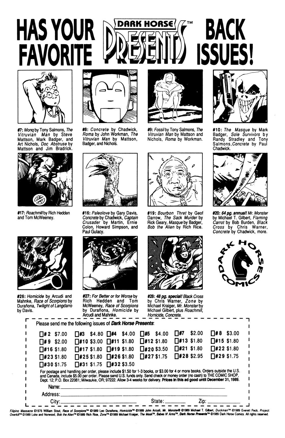 Dark Horse Presents (1986) Issue #37 #42 - English 33