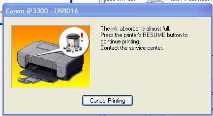 Cara Reset manual Printer canon mp287