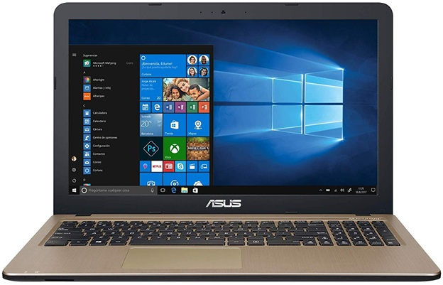 ASUS X540UB-GQ491T: panel HD de 15.6'' con Core i5 y gráfica dedicada GeForce MX110
