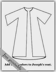 Fins and Marbles: Bible Story: Joseph's New Coat