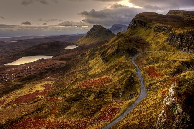 Rugged Highland Peaks