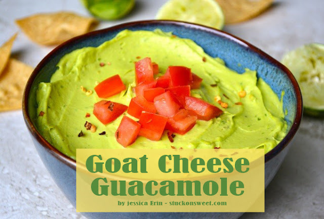 Best Goat Cheese Guacamole