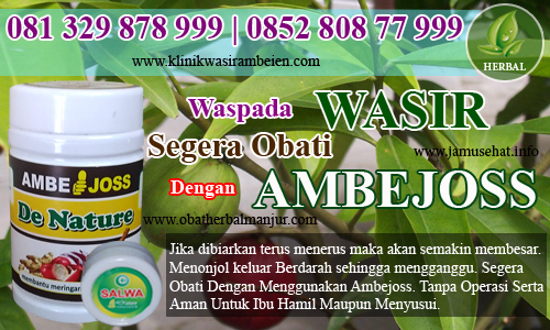 obat wasir tradisional