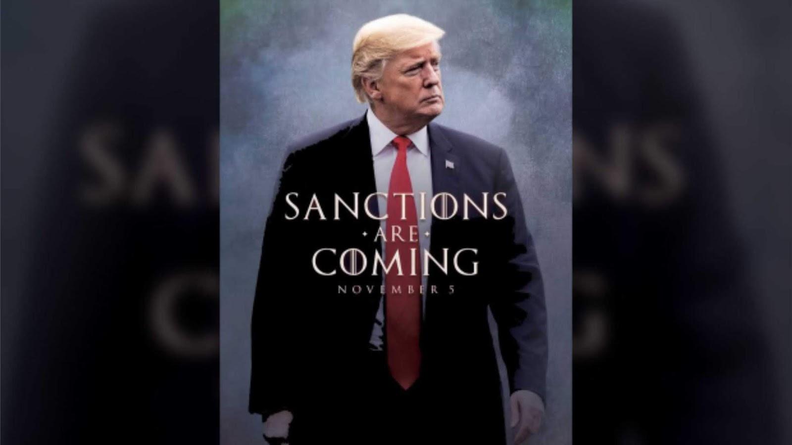 Presiden Trump juga menggunakan istilah Game of Thrones