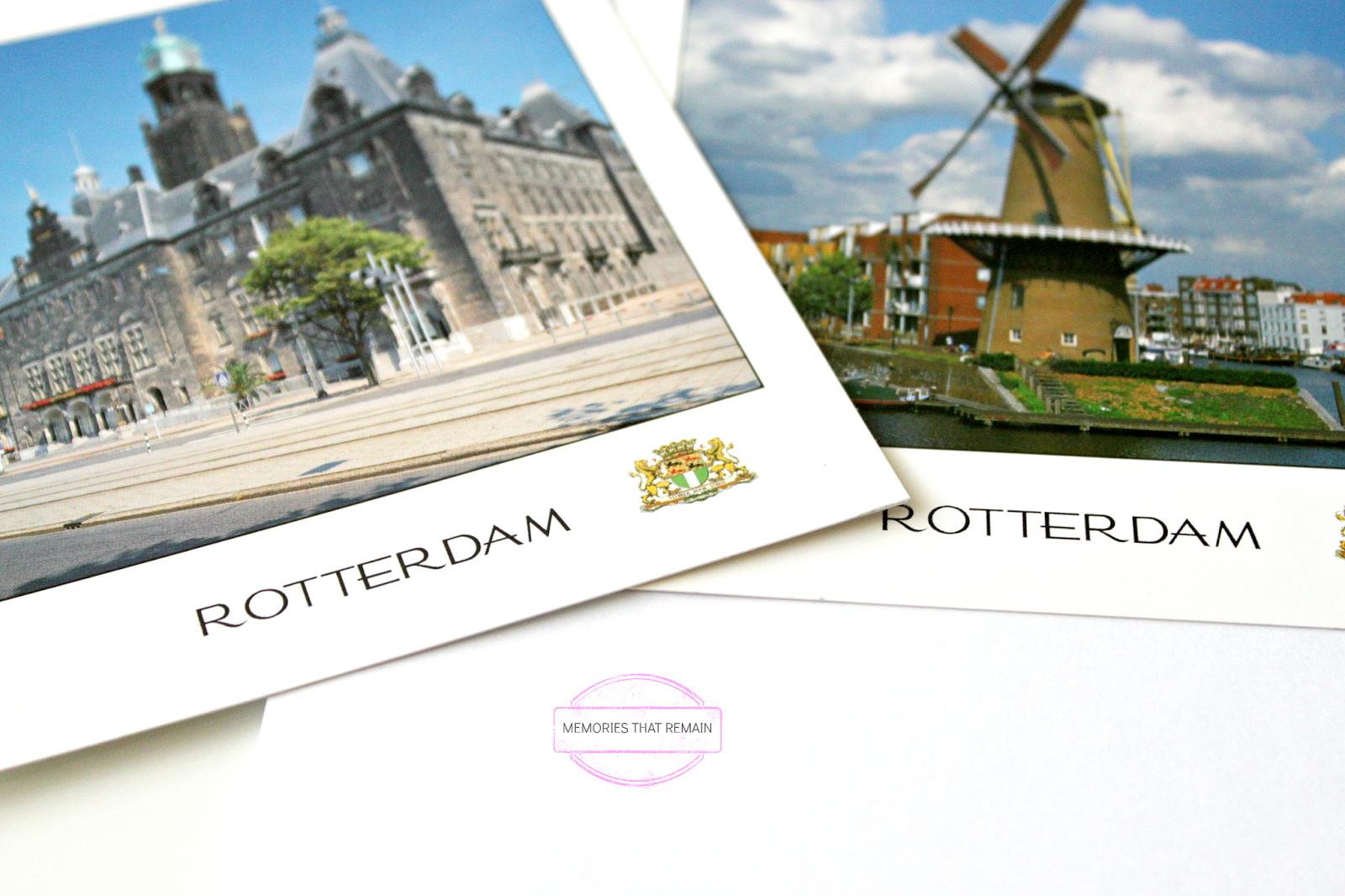 postcards Rotterdam