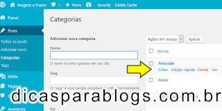 Descrição e Imagem na Pagina de Categorias e Tags do Wordpress