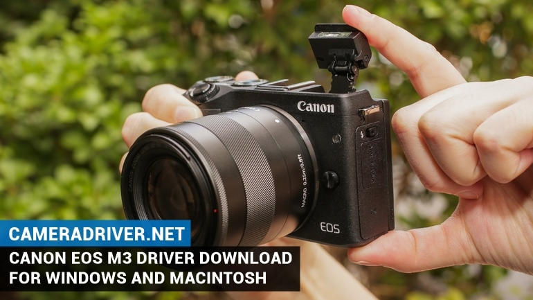 Canon EOS M3 Software Download