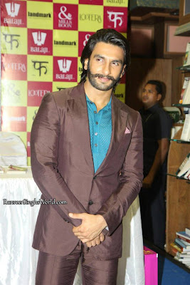 Ranveer, Sonakshi launch the Lootera Mills n Boon series