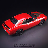 Dodge Challenger STR8 1/25 Revell  Plastic Model Kit