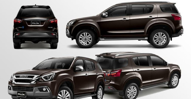 New 2018 Isuzu MU-X Facelift all Types Looks