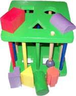 Mainan Edukatif Yang Aman Sangkar Geometri