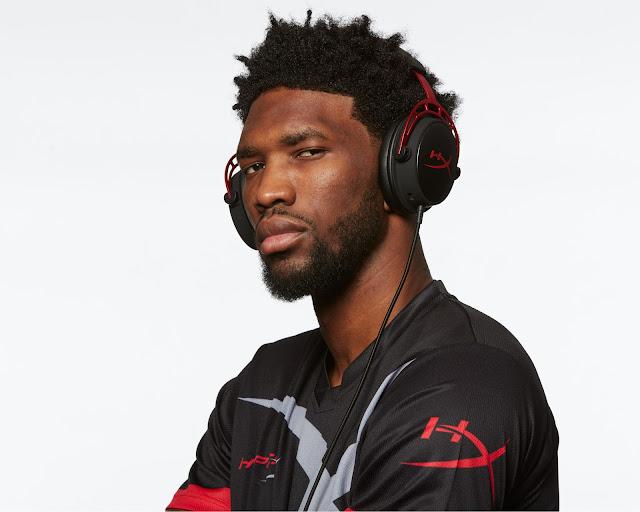 Joel Embiid Philadelphia 76ers HyperX