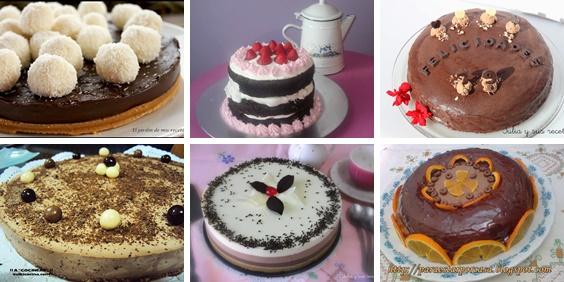 JULIA Y SUS RECETAS 6 deliciosas tartas de chocolate fciles y ricas